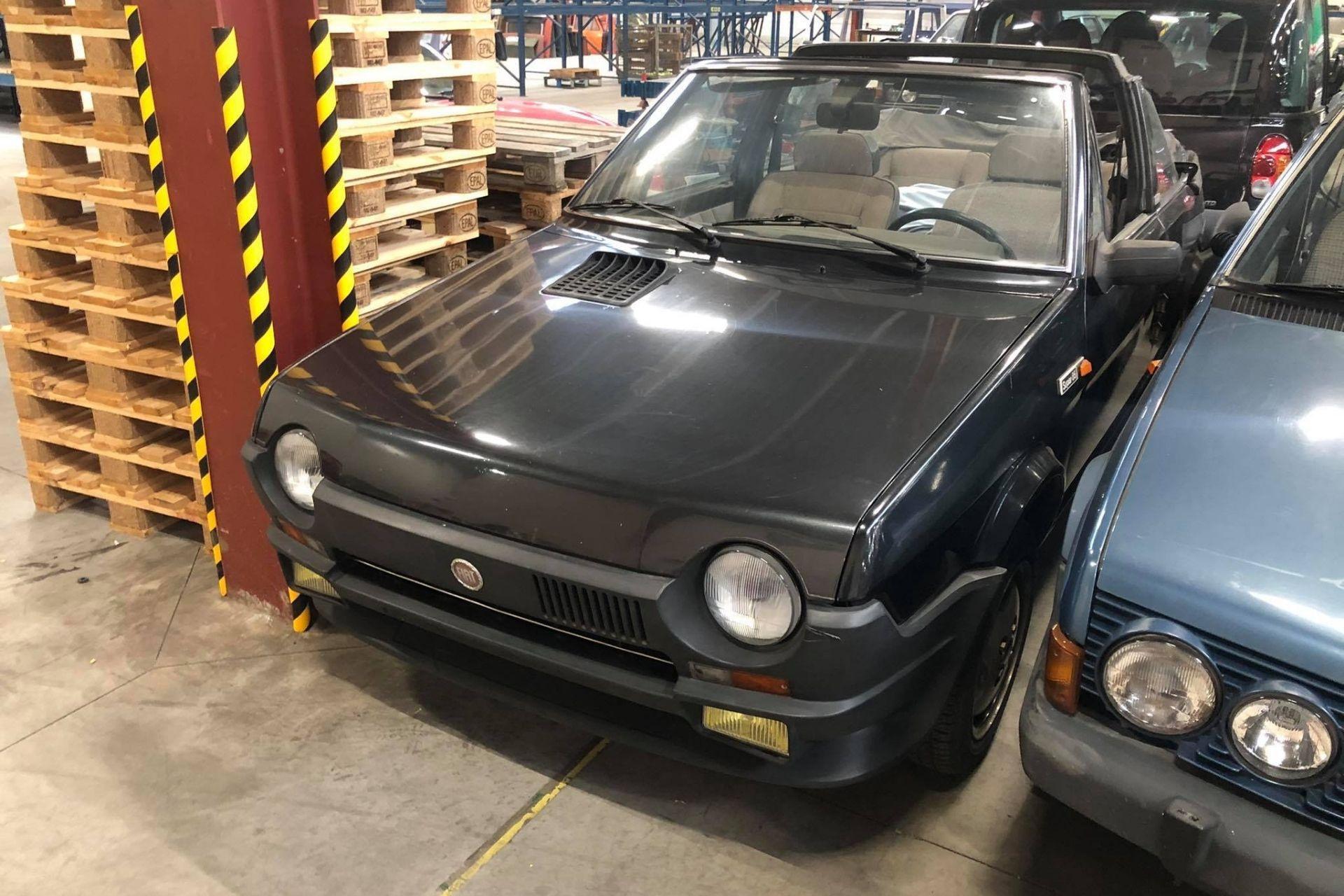 Fiat Ritmo cabrio black