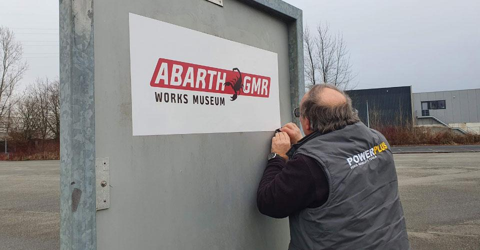 Pop-up Abarth Works Museum!